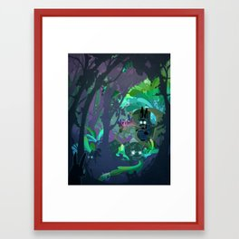 Bunny Aint No Kind Of Rider Framed Art Print