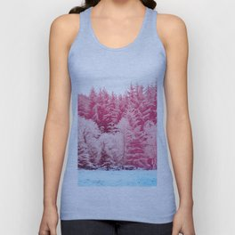 Candy pine trees Unisex Tank Top