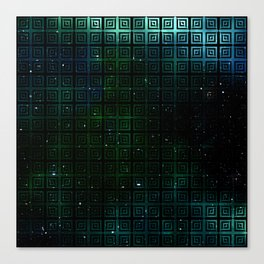 The Universe Squared Canvas Print