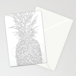 pineapple sophistication Stationery Cards