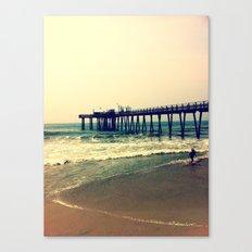 Shore at Dusk Canvas Print