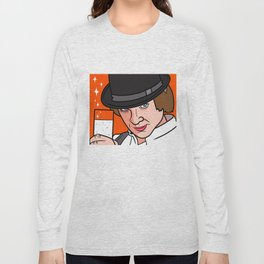 Malcolm McDowell Clockwork Long Sleeve T-shirt
