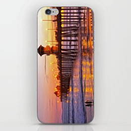 HB Sunset Picture Takers iPhone Skin