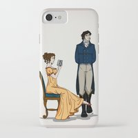 pride and prejudice iPhone & iPod Cases featuring Pride and Prejudice by wolfanita