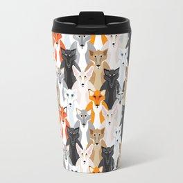 Friendly Foxes Travel Mug