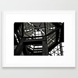 Roof Framed Art Print