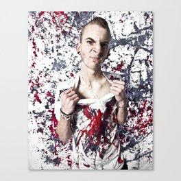 paint's wet.  Canvas Print