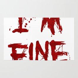 I'm Fine Rug