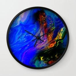 Abstract Layered Beautiful Wall Clock