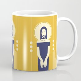 Phaedra Yellow Coffee Mug