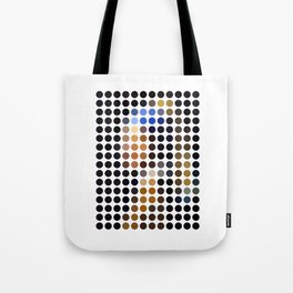 Girl with a Pearl Earring remixed (2009) Tote Bag