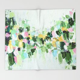 Southern Julep Throw Blanket