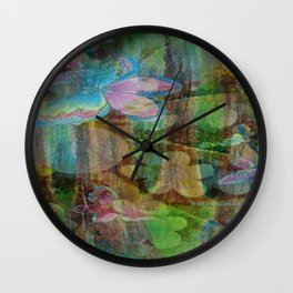 """ Maiden In The Mist "" Wall Clock"