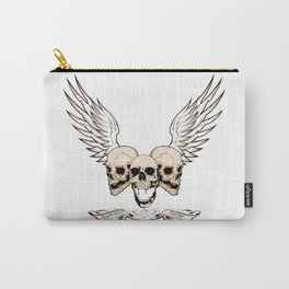 Fortune Favors The Brave Carry-All Pouch