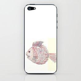 3d piranha iPhone Skin