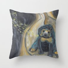 Reimagined: Trapped Throw Pillow