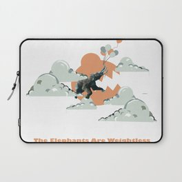 The Elephants Are Weightless Laptop Sleeve