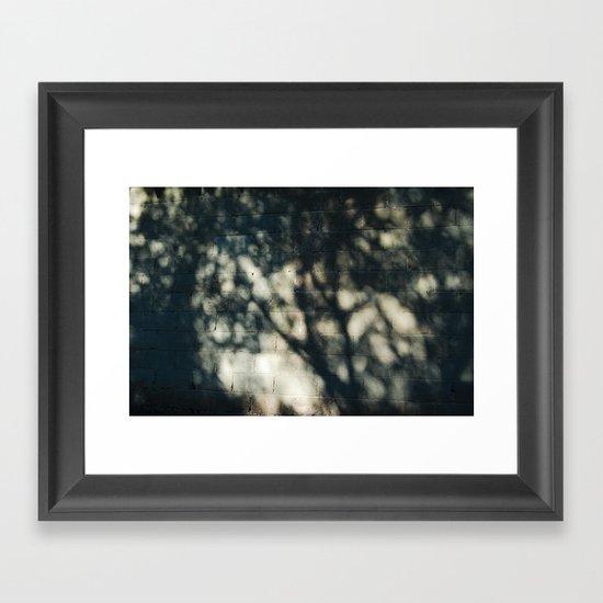 Cold Framed Art Print