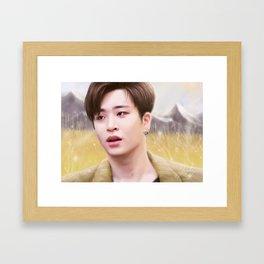 GOT7 Youngjae Framed Art Print