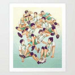Aobajousai Art Print