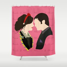 Chair (Chuck & Blair) Shower Curtain