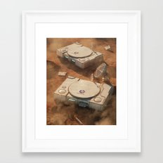 SpaceStation 1 Framed Art Print