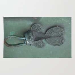 Green Fish Rug