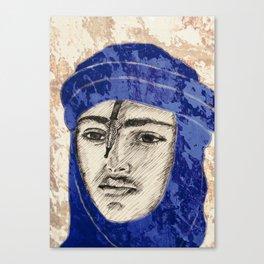Proud Tuareg  Canvas Print