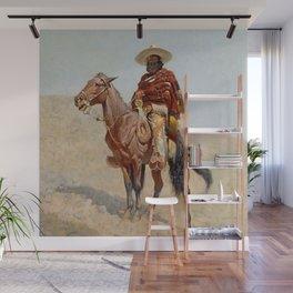 """Mexican Vaquero Horseman"" by Frederick Remington Wall Mural"