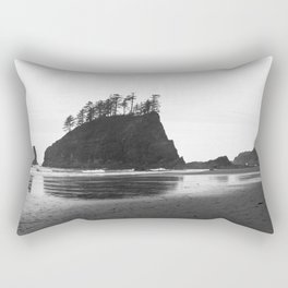La Push Beach #2 - La Push, WA Rectangular Pillow