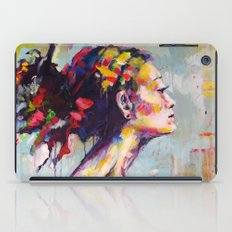 Lena- beautiful woman iPad Case