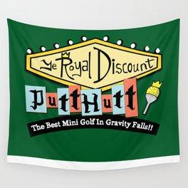 Gravity Falls Mini Golf Wall Tapestry
