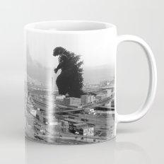 Old Time Godzilla Mug
