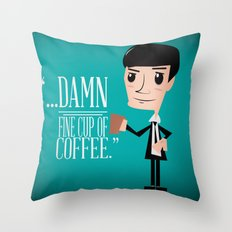 Agent Cooper Throw Pillow