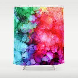 Rainblow Shower Curtain