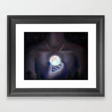 Opalune Framed Art Print