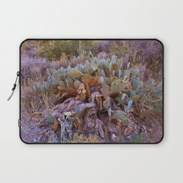 Lifecycle of Prickly Pear Cactuses Laptop Sleeve