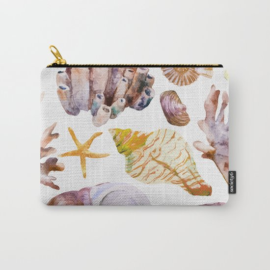 Sea Life Pattern 12 Carry-All Pouch