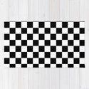 black checkered pattern by matteandmarble
