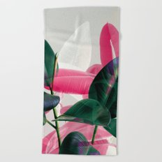 Greenery Mix Beach Towel