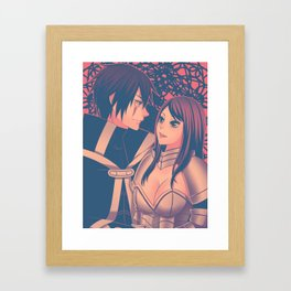 Jerza Framed Art Print