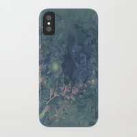 vintage floral iPhone & iPod Cases featuring Vintage floral by nicky2342