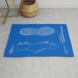 Baseball Cleat Patent - Blueprint Rug