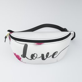 Love Tulips Fanny Pack