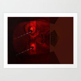 viewed Art Print