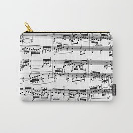 Sheet Music by Bach Carry-All Pouch