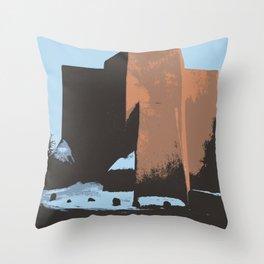 St Francis de Asis Take Two Throw Pillow