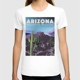 Arizona: Superstition Mountains T-shirt