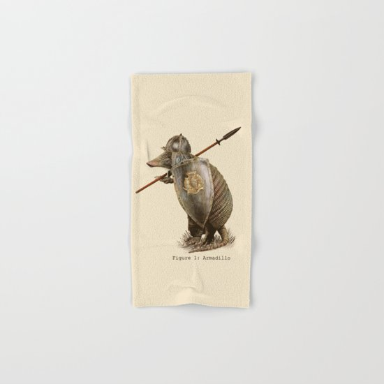 Armadillo (option) Hand & Bath Towel