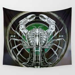 """""""Astrological Mechanism - Cancer"""" Wall Tapestry"""